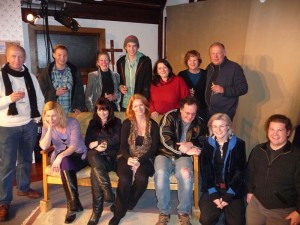 What a team! - The whole cast & crew (minus Julia & Pip)