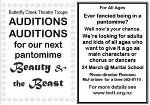 Beauty Auditions Ad